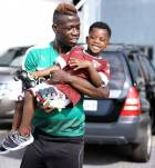Afriyie Acquah flaunts his son and he is certainly not 'monkey'