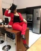 Actress Nadia Buari stuns in Zambia at Lusaka July 2018