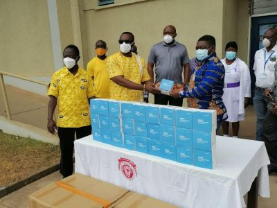 MTN Ghana Foundation boosts 'Wear It For Me' campaign with donation of 88,000 face masks to health workers