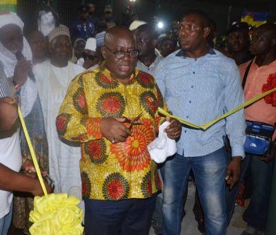 Akufo-Addo commissions Lord's Wembley Plus at Shukura