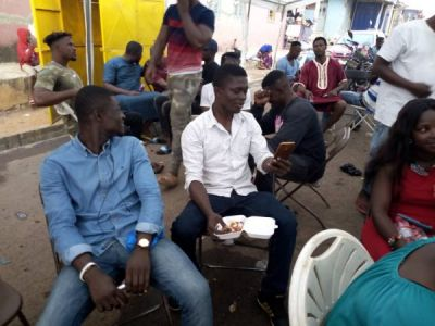 Yammin feasts with NDC vigilante group 'The Hawks'