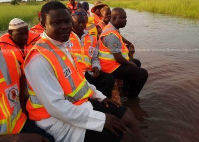 Floods cut off communities in Karaga