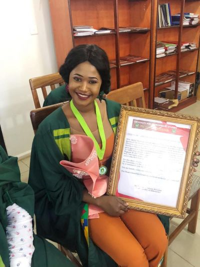 Ghana's Most Beautiful 2017 Queen Zeinab graduates from the University