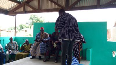 Kasena/Nankana West DCE appeals to traditional leaders for support