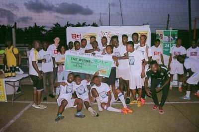 Karl Brown wins Happy FM Corporate Knockout Challenge