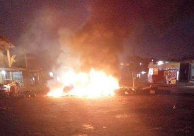 Demo in Nsuta after truck driver kills teenager