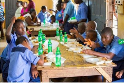 Sammi Awuku dines with school for the deaf on his birthday