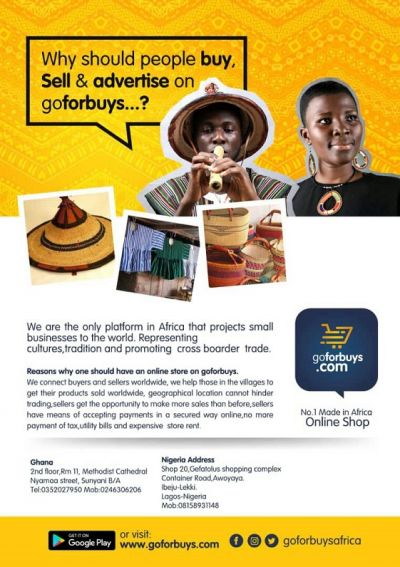 GoForBuys.com launched to promote African wear