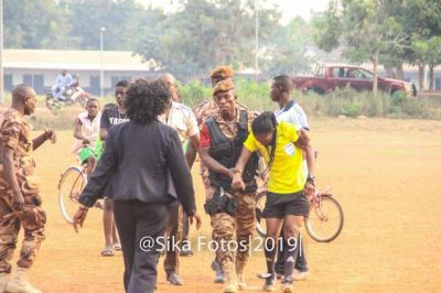 Female Ghanaian referee mercilessly beaten for not adding enough injury time