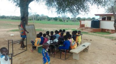 Neglected school in Upper East uses pit latrine as office