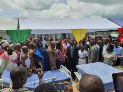 Commissioned Kasoa Hospital yet to commence operations