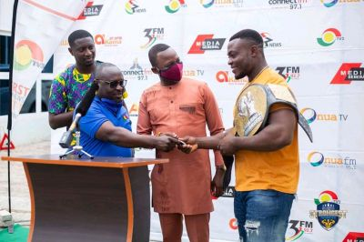 TV3 presents prize to Ghana's strongest 2020 winner