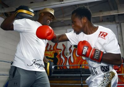 Photos: Isaac Dogboe vows to regain belt from Navarrete
