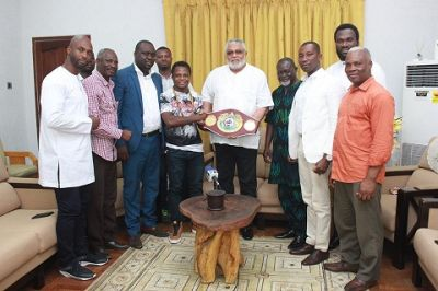Dogboe is a hungry boxer - Rawlings