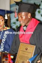 Exclusive photos from the conferment of honorary doctorate on Asamoah Gyan