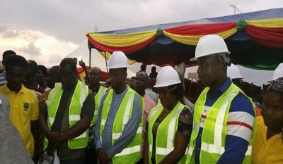 Government begins work on Nsein township roads in Nzema East