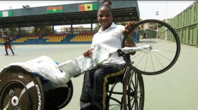 GCB aids in acquiring 'first ever' racing chair for female atheletes