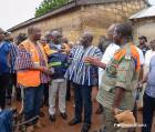 Government donates relief items to flood victims