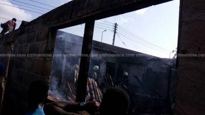 Man arrested for burning mother's house