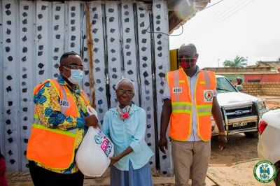 Coronavirus: AMA supports 5000 households with food items