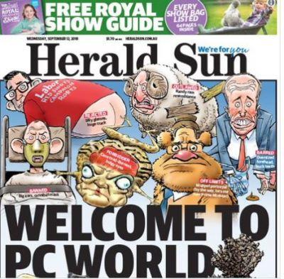 Serena Williams: Herald Sun front page defends cartoon