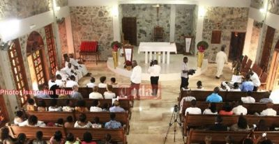 Papa Kwesi Nduom builds a church for his family?