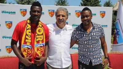 Asamoah Gyan explains €550k-a-year move to Kayserispor