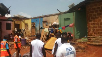 Over 200 people rendered homeless in Wenchi after rainstorm