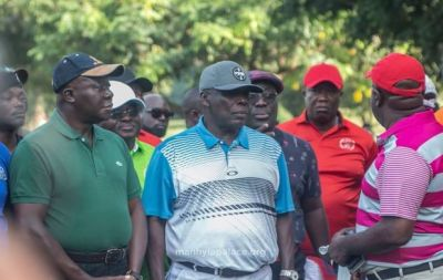Okyehene, Otumfuo play golf together
