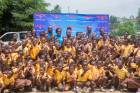 Voltic commemorates World Water Day with pupils of Nsawam M/A Basic School