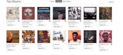 Worlasi's 'Worla' album rated number 2 on Apple Music Top Charts