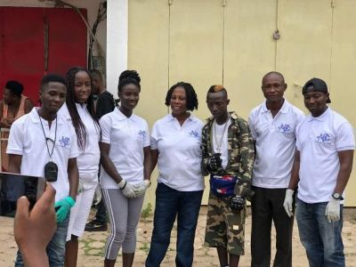 Patapaa leads clean-up exercise in Agona Swedru
