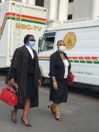 PHOTOS: Big shots arrive at Supreme Court ahead of hearing