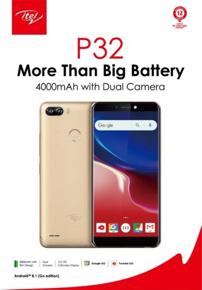 itel debuts three smartphones on Android™ Oreo™ system in Ghana