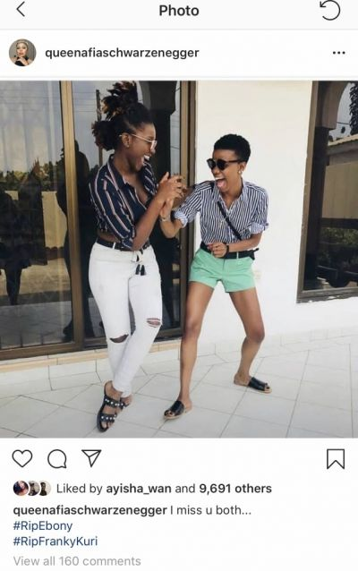 Ghanaians remember late Ebony Reigns as she departed exactly a year ago