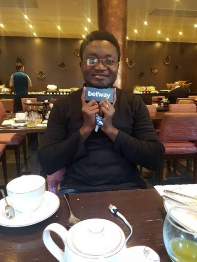 Betway EPL promo winner and spouse jet off to London