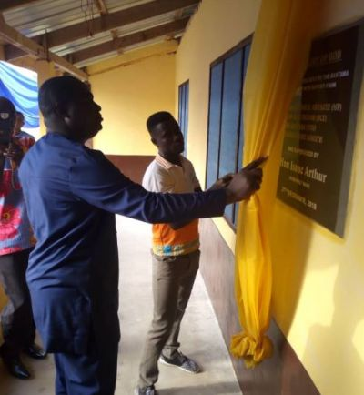 Bantama residents hand over renovated clinic to Asena Manso Akroso DCE
