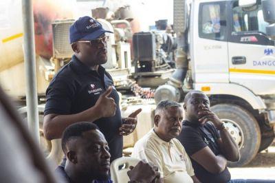 DVLA hails Dangote Cement Ghana drivers