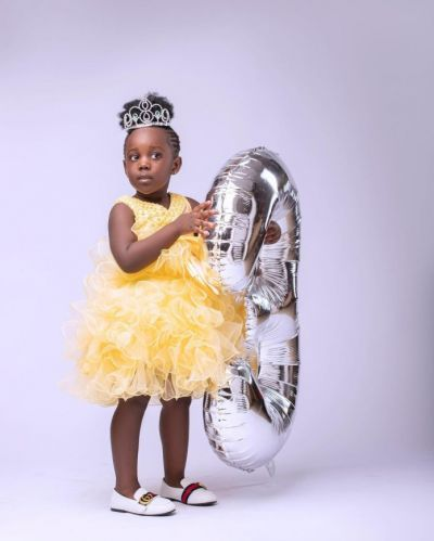 Check out stunning birthday photos of Stonebwoy's daughter