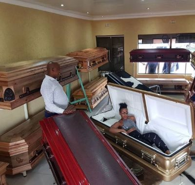 Don't be surprised at my death – Socialite buys expensive coffin