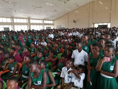 Kidnappings: Police intensifies public awareness in SHSs on personal safety tips in Western Region
