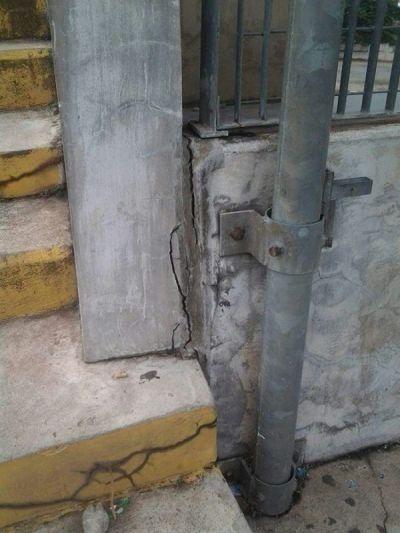 Accra Sports Stadium in ruins