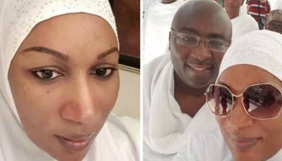 Photos of Samira Bawumia without makeup go viral on social media