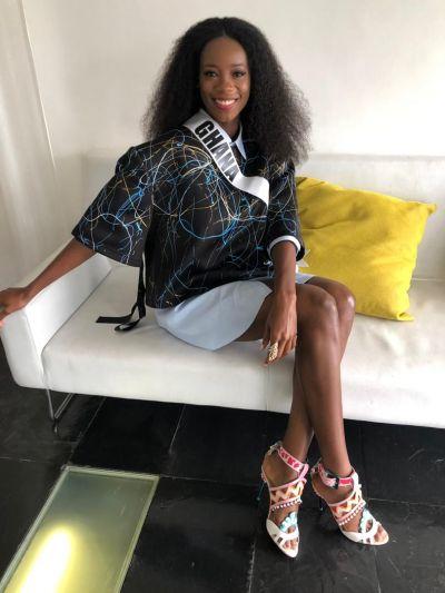 Akpene Hoggar set to dazzle at Miss Universe 2018 final tonight
