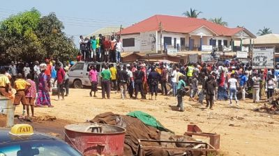 Protest erupts over terrible Hohoe roads