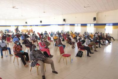 GHS, others train health workers on larval source management in Upper East region