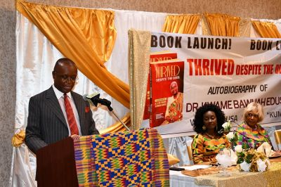 Dr. Kwame Bawuah-Edusei launches autobiography in US
