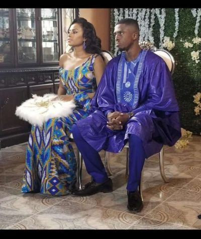 Photos from TV host, Chantelle Asante's traditional wedding