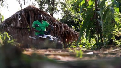 No legs, no issue: Farmer makes the most of his gifts