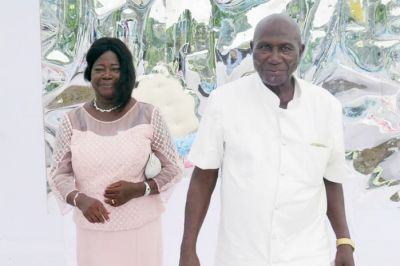 Son, now a catholic priest, officiates renewal of vows of parents, after 32 years of separation